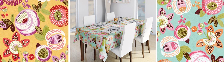 Jubelis tovaglie da tavola da giardino - Tovaglie plastificate design ...
